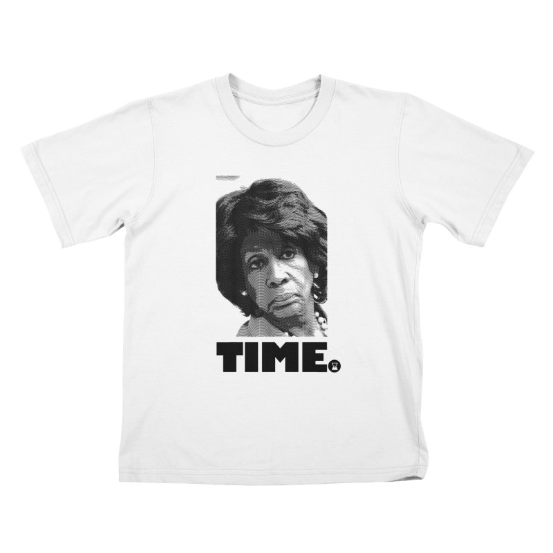 TIME. Kids T-shirt by FWMJ's Shop