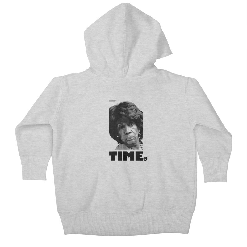 TIME. Kids Baby Zip-Up Hoody by FWMJ's Shop
