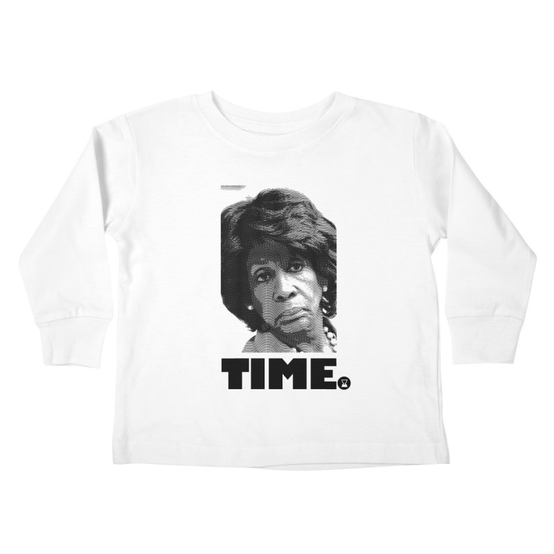 TIME. Kids Toddler Longsleeve T-Shirt by FWMJ's Shop
