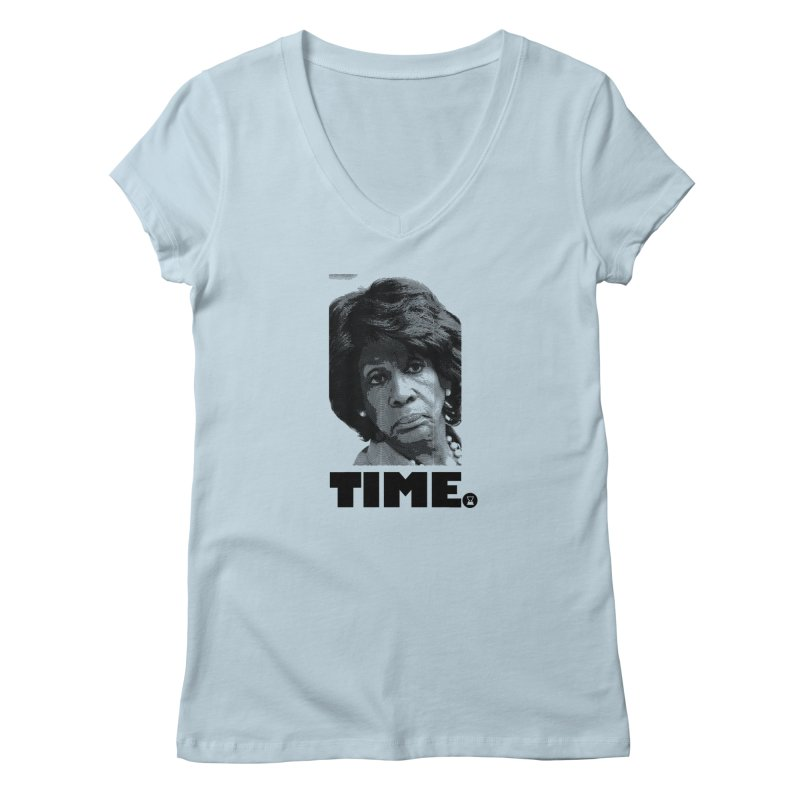 TIME. Women's V-Neck by FWMJ's Shop
