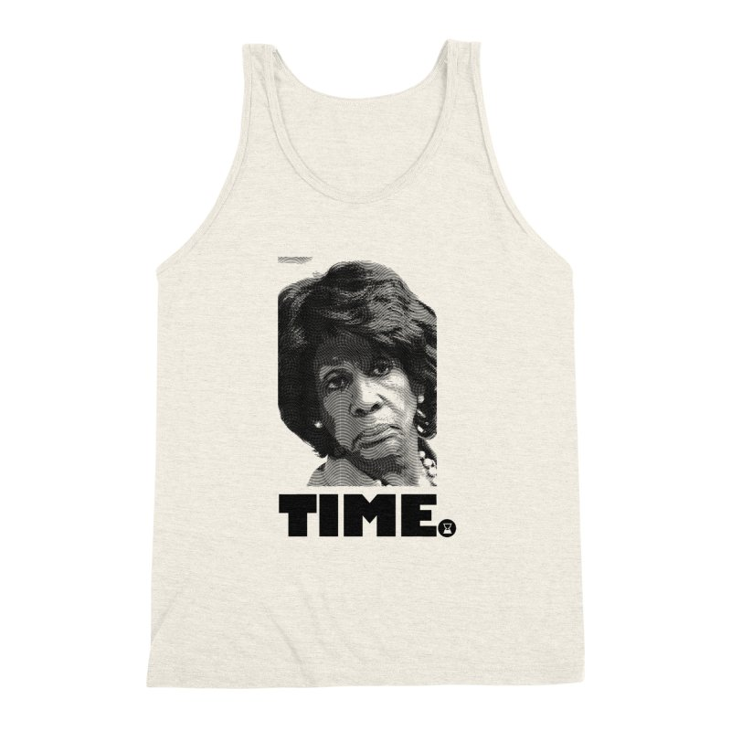TIME. Men's Triblend Tank by FWMJ's Shop