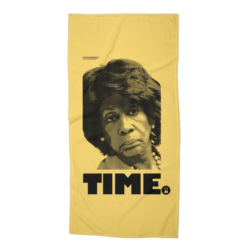 TIME. Accessories Beach Towel by FWMJ's Shop