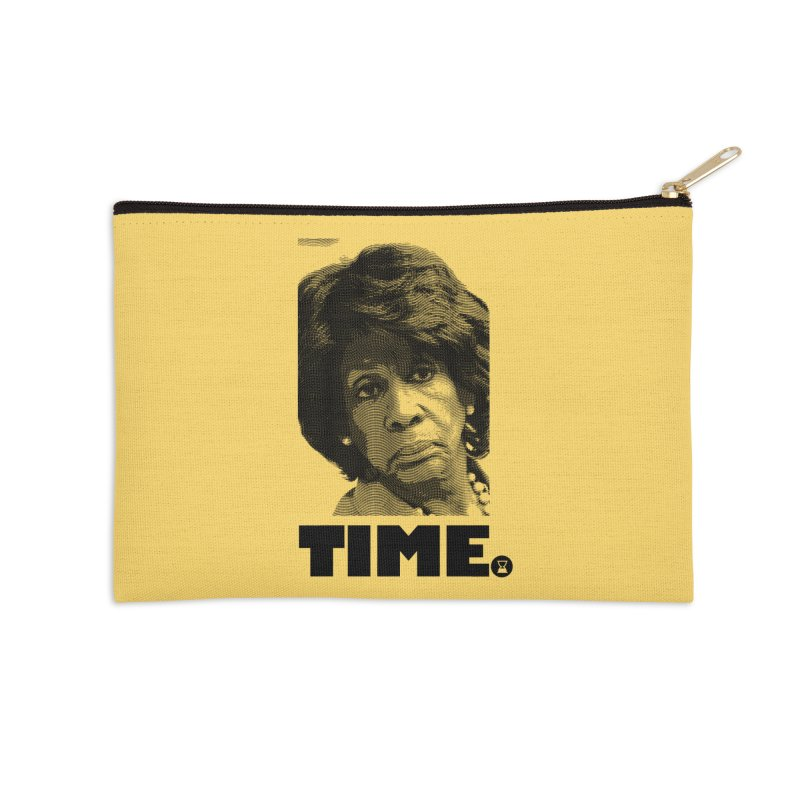 TIME. Accessories Zip Pouch by FWMJ's Shop