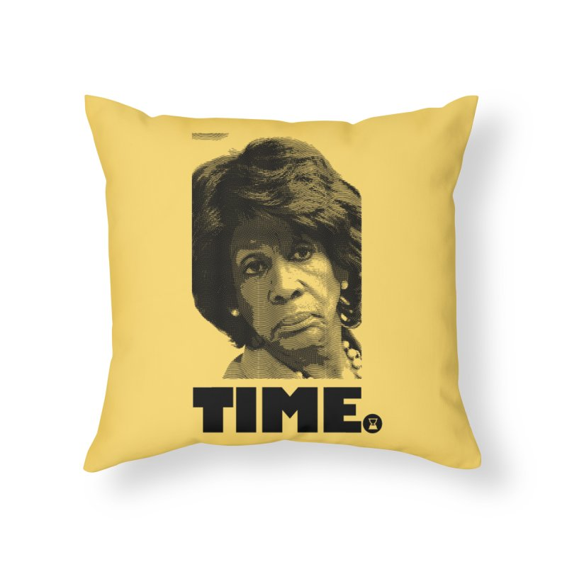 TIME. Home Throw Pillow by FWMJ's Shop