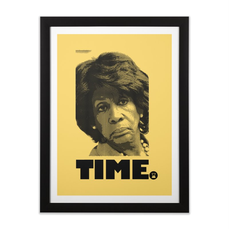 TIME. Home Framed Fine Art Print by FWMJ's Shop