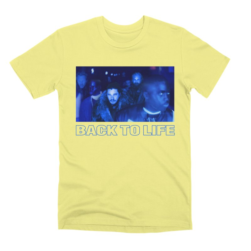 Back To Life Men's T-Shirt by FWMJ's Shop