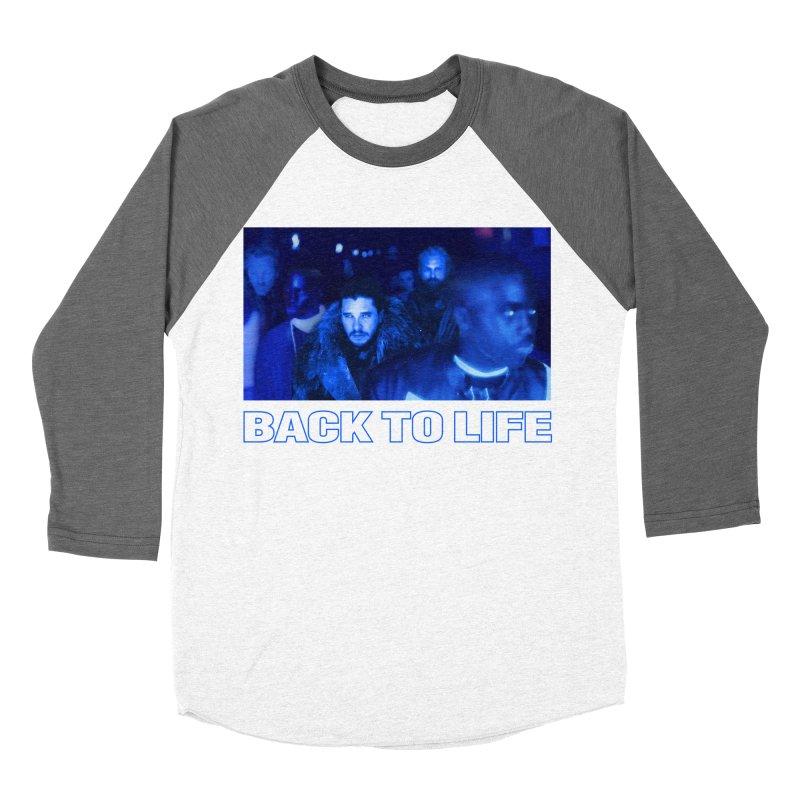 Back To Life Women's Baseball Triblend Longsleeve T-Shirt by FWMJ's Shop