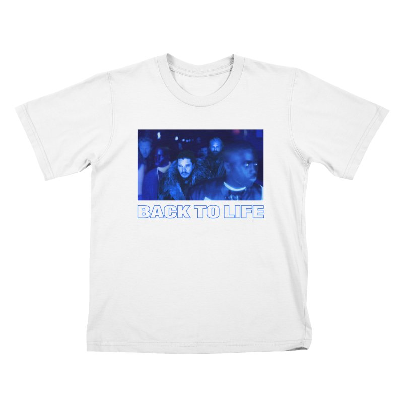 Back To Life Kids T-Shirt by FWMJ's Shop