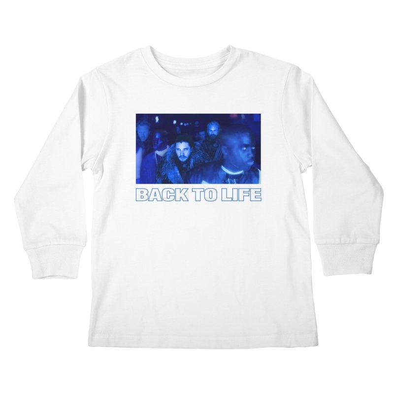 Back To Life Kids Longsleeve T-Shirt by FWMJ's Shop