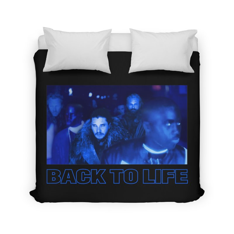 Back To Life Home Duvet by FWMJ's Shop