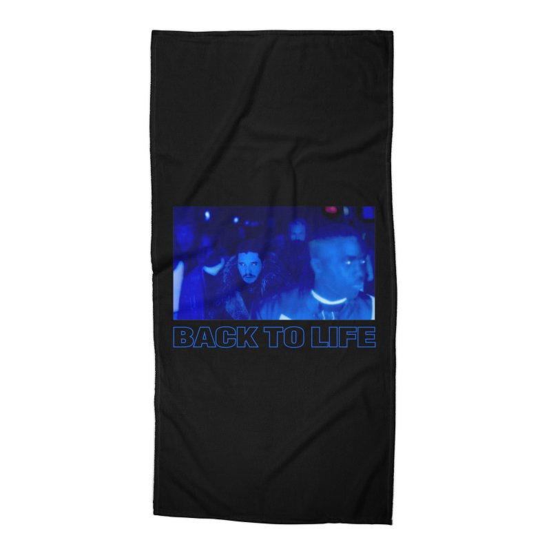 Back To Life Accessories Beach Towel by FWMJ's Shop