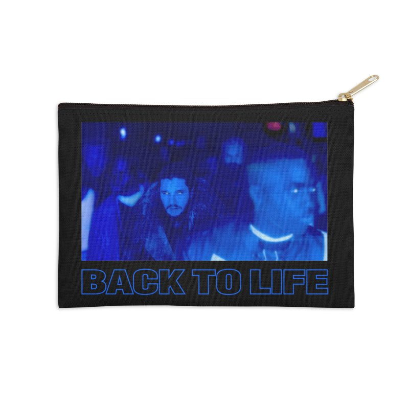Back To Life Accessories Zip Pouch by FWMJ's Shop