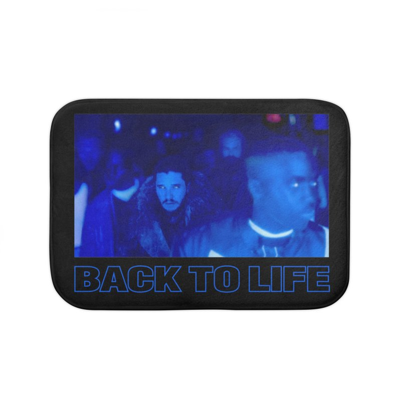 Back To Life Home Bath Mat by FWMJ's Shop