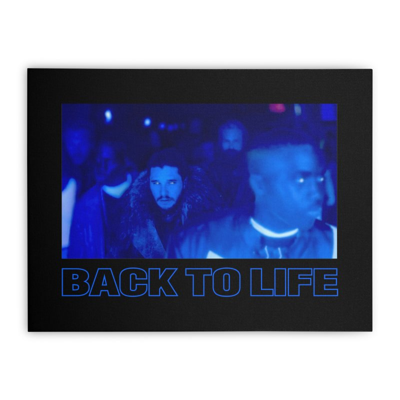 Back To Life Home Stretched Canvas by FWMJ's Shop
