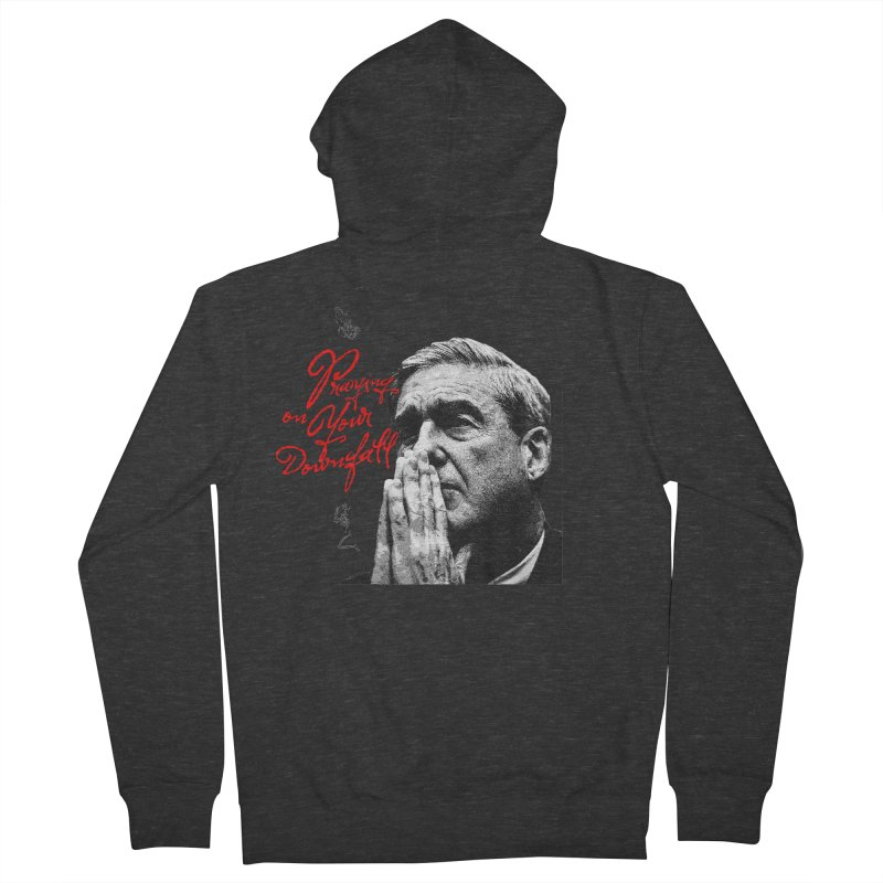 The Power of Prayer Men's French Terry Zip-Up Hoody by FWMJ's Shop