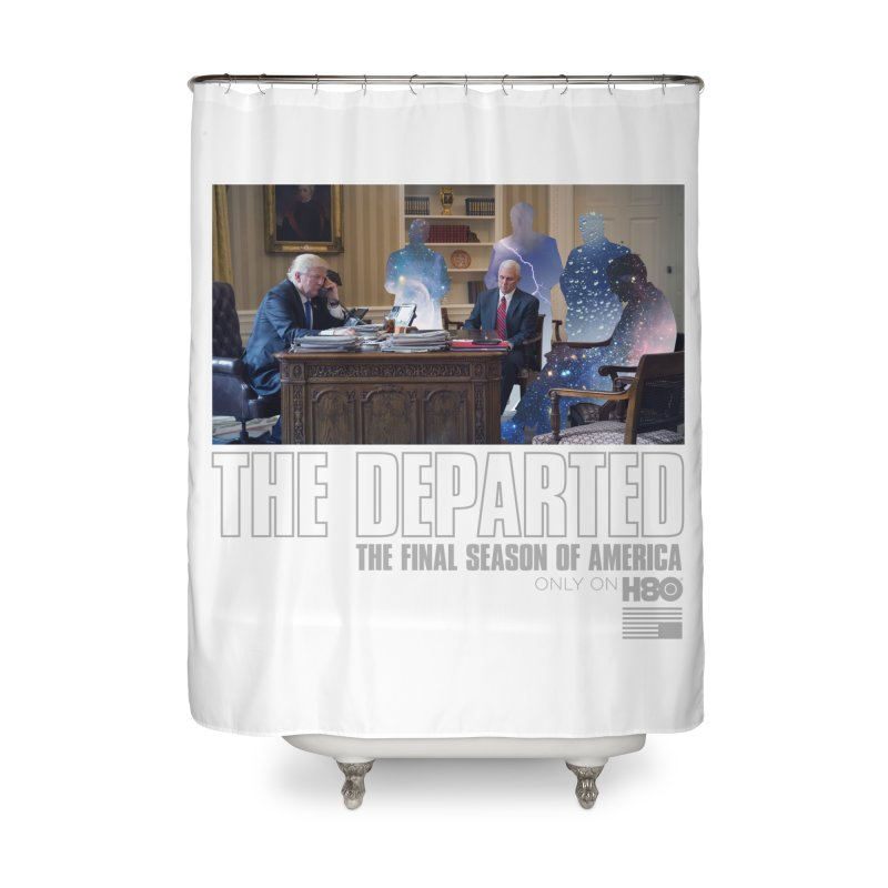 The Leftovers Home Shower Curtain by FWMJ's Shop