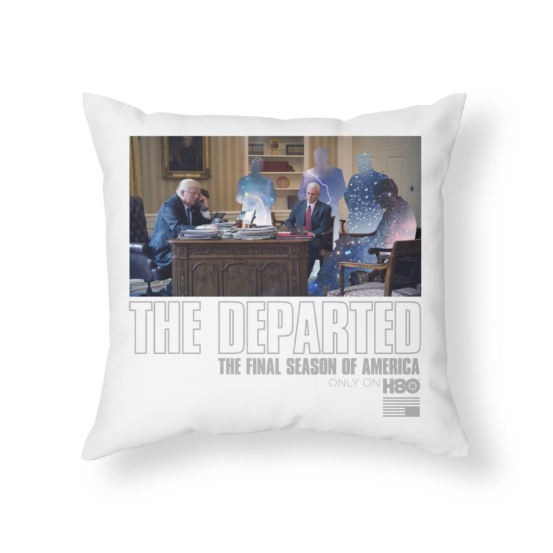 The Leftovers Home Throw Pillow by FWMJ's Shop