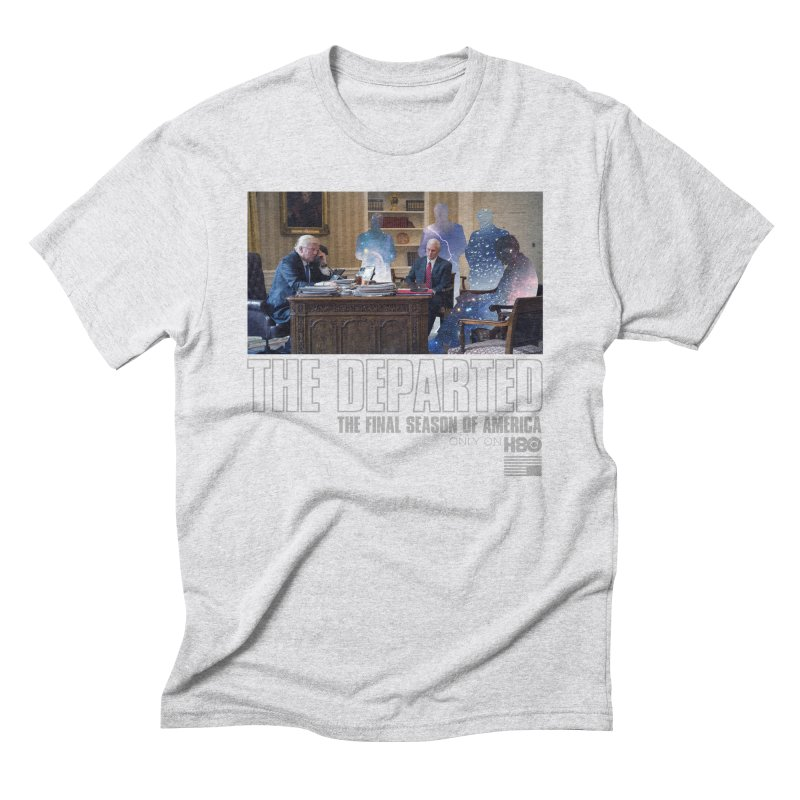 The Leftovers in Men's Triblend T-shirt Heather White by FWMJ's Shop