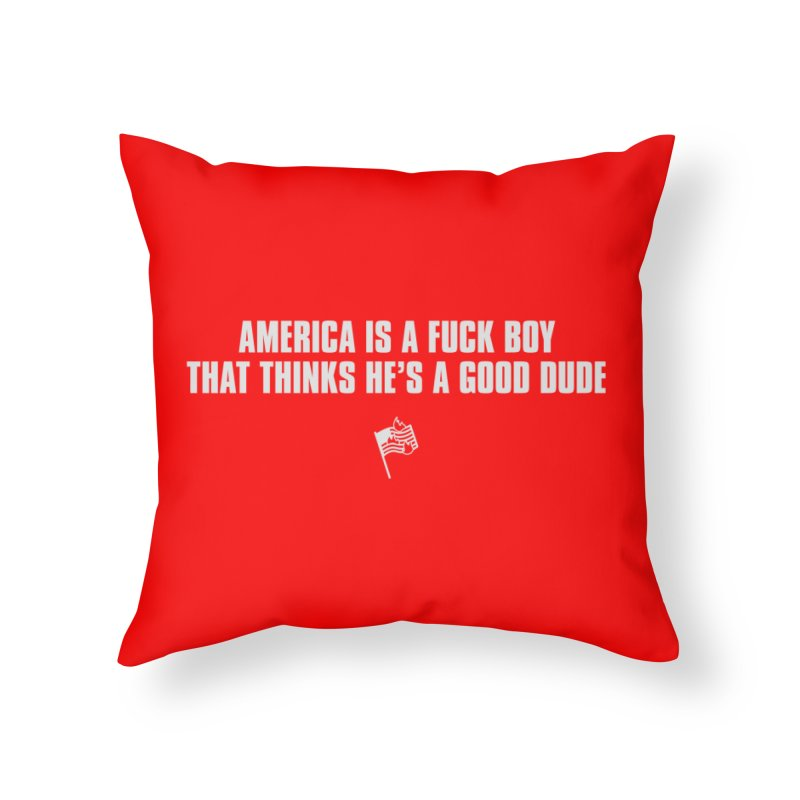 When Y'all's President is Insecure in Throw Pillow by FWMJ's Shop