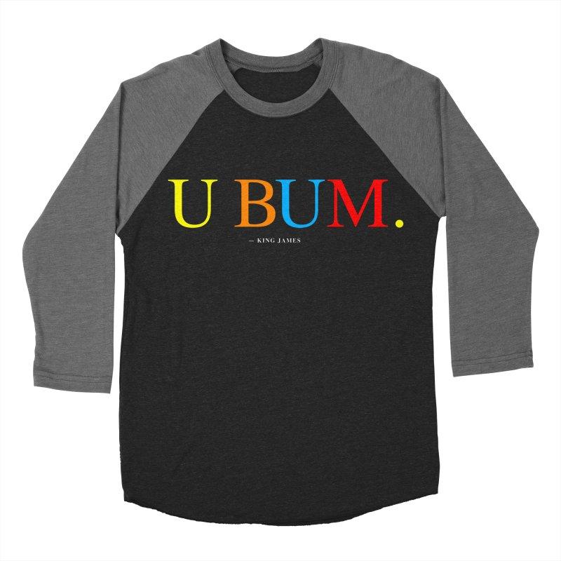 U BUM. (For Questlove) Men's Baseball Triblend T-Shirt by FWMJ's Shop