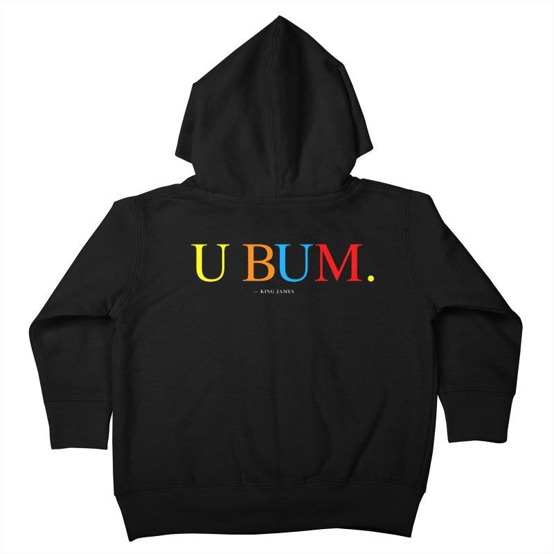 U BUM. (For Questlove) Kids Toddler Zip-Up Hoody by FWMJ's Shop