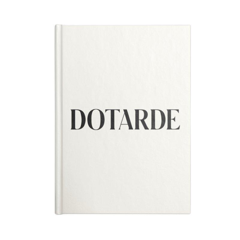 DOTARDE (Light) Accessories Blank Journal Notebook by FWMJ's Shop
