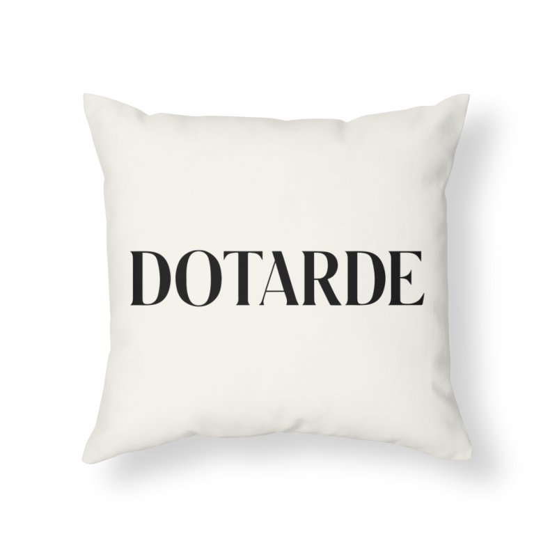 DOTARDE (Light) Home Throw Pillow by FWMJ's Shop