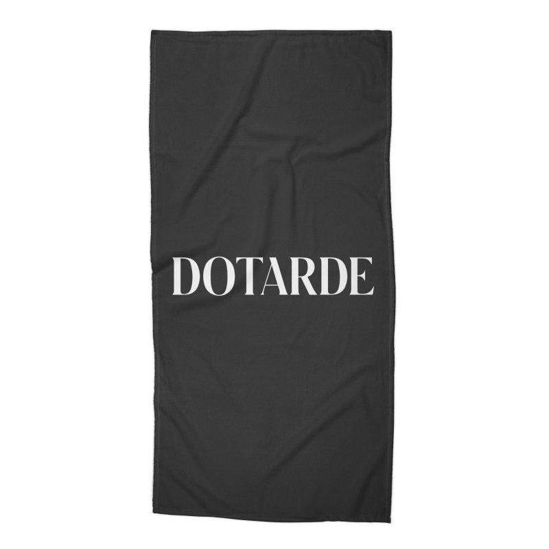 DOTARDE (Dark) Accessories Beach Towel by FWMJ's Shop