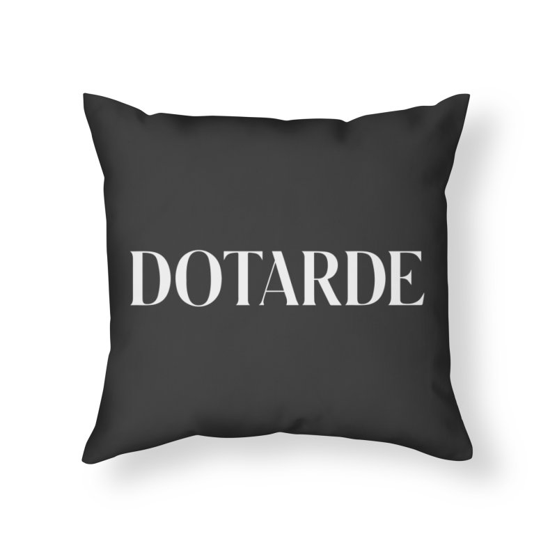 DOTARDE (Dark) Home Throw Pillow by FWMJ's Shop