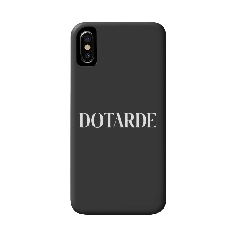 DOTARDE (Dark) Accessories Phone Case by FWMJ's Shop