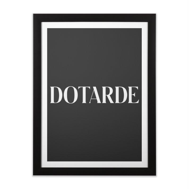 DOTARDE (Dark) Home Framed Fine Art Print by FWMJ's Shop