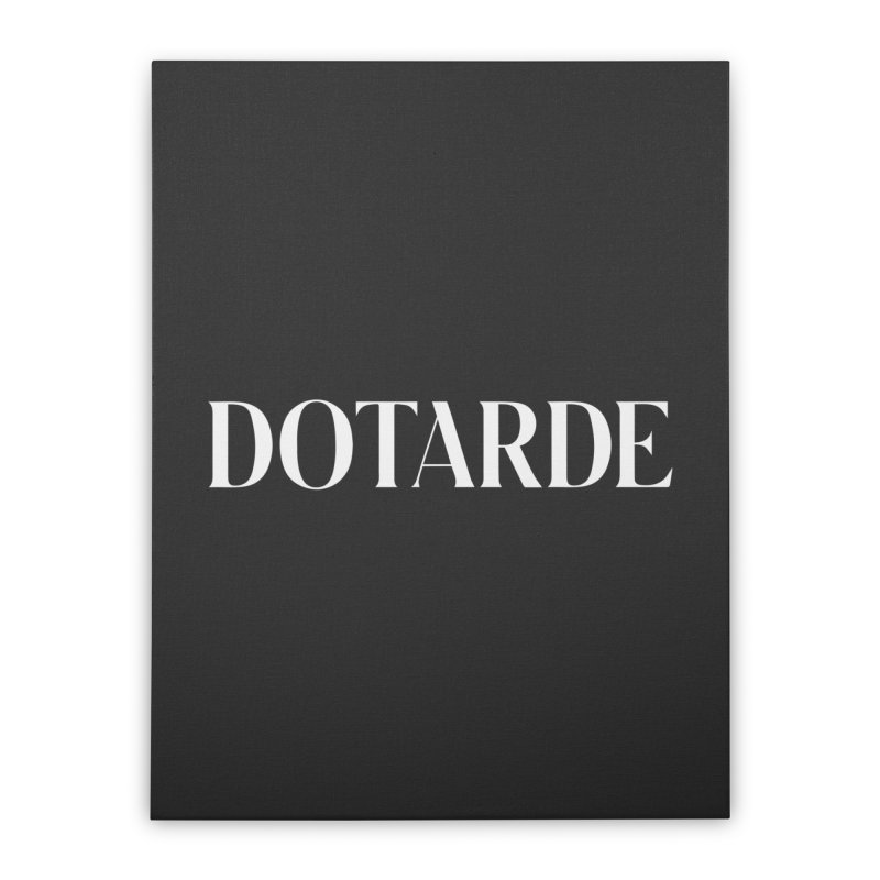 DOTARDE (Dark) Home Stretched Canvas by FWMJ's Shop