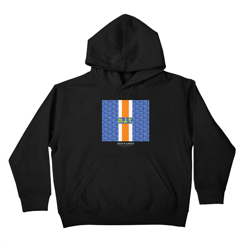 DOTARD. (Bleu) Kids Pullover Hoody by FWMJ's Shop