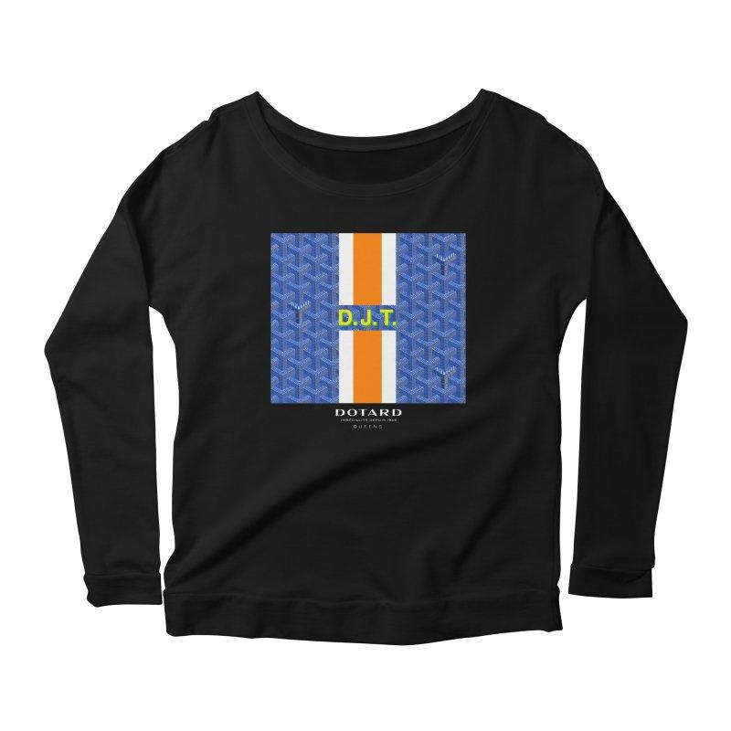 DOTARD. (Bleu) Women's Longsleeve Scoopneck  by FWMJ's Shop