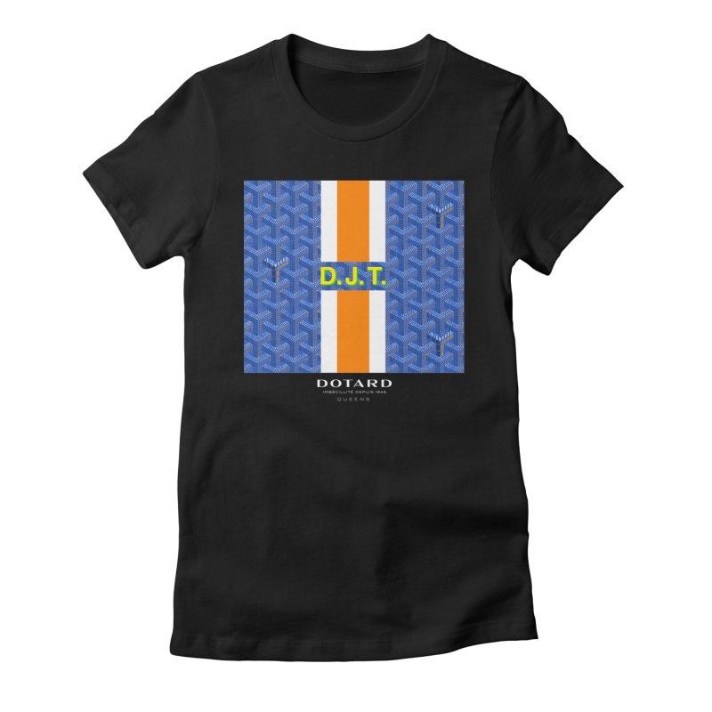 DOTARD. (Bleu) Women's Fitted T-Shirt by FWMJ's Shop