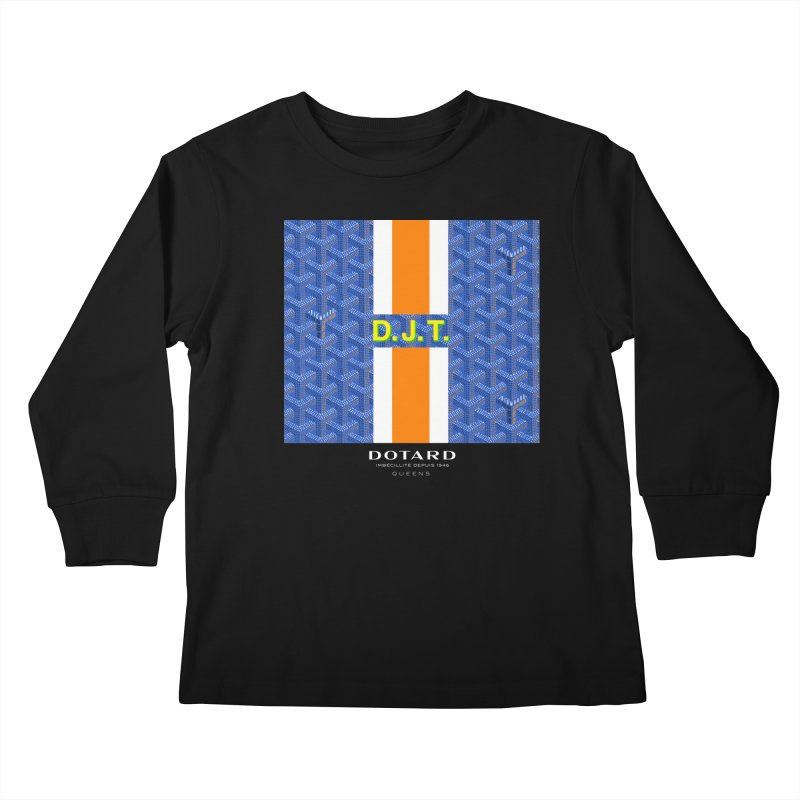 DOTARD. (Bleu) Kids Longsleeve T-Shirt by FWMJ's Shop
