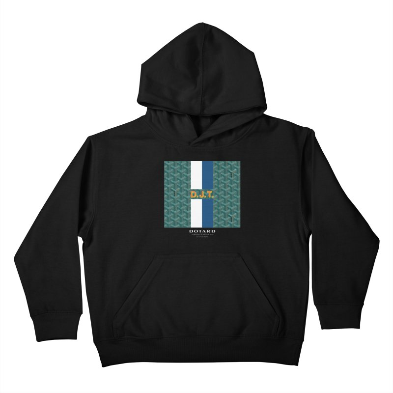 DOTARD. (Vert) Kids Pullover Hoody by FWMJ's Shop