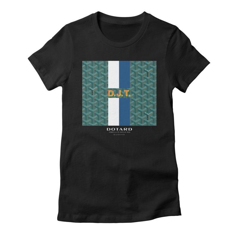 DOTARD. (Vert) Women's Fitted T-Shirt by FWMJ's Shop