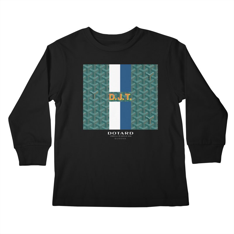 DOTARD. (Vert) Kids Longsleeve T-Shirt by FWMJ's Shop