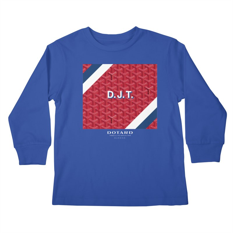 DOTARD. (Rouge) Kids Longsleeve T-Shirt by FWMJ's Shop