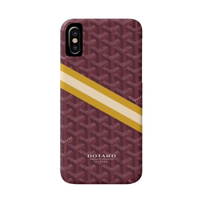 DOTARD. (Bordeaux) Accessories Phone Case by FWMJ's Shop
