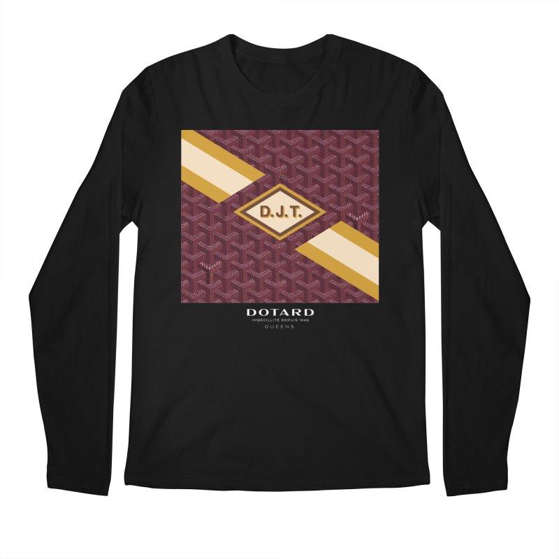 DOTARD. (Bordeaux) Men's Longsleeve T-Shirt by FWMJ's Shop