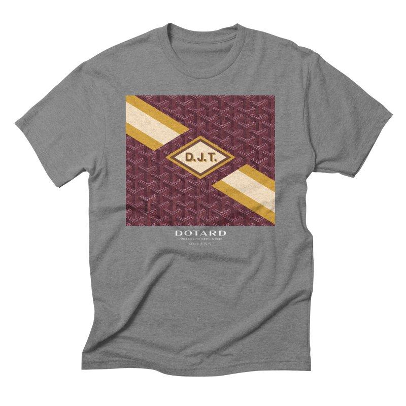 DOTARD. (Bordeaux) Men's Triblend T-shirt by FWMJ's Shop
