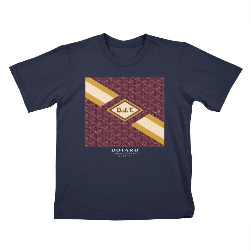 DOTARD. (Bordeaux) Kids T-shirt by FWMJ's Shop