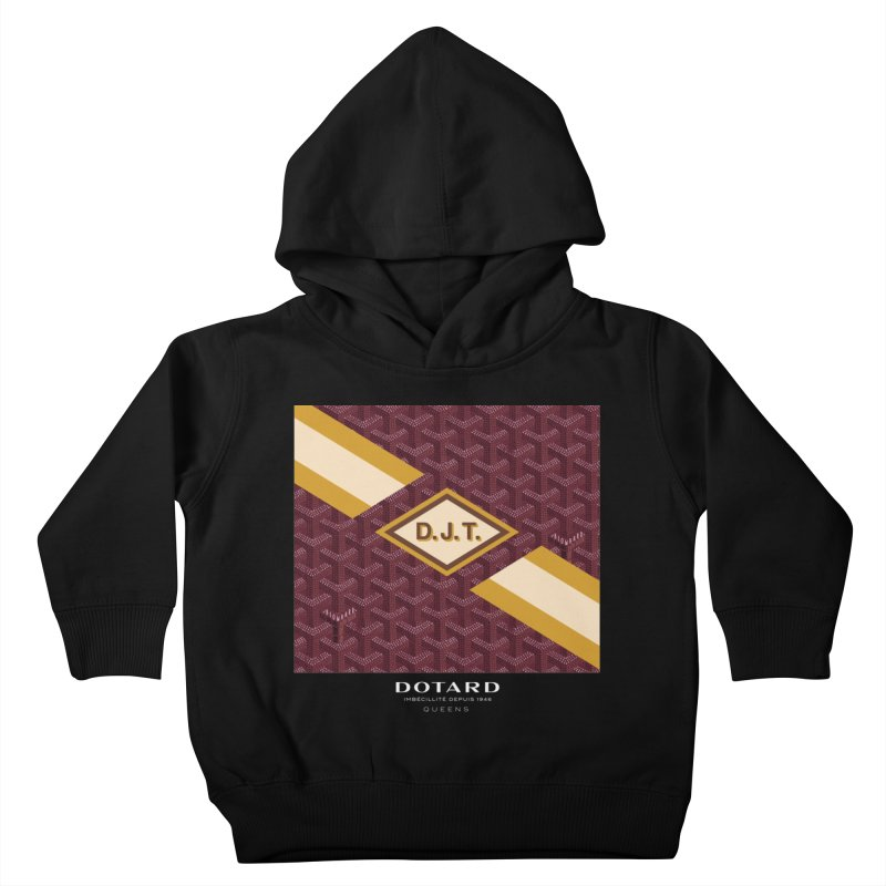DOTARD. (Bordeaux) Kids Toddler Pullover Hoody by FWMJ's Shop