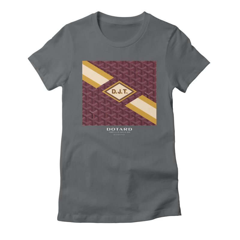DOTARD. (Bordeaux) Women's Fitted T-Shirt by FWMJ's Shop