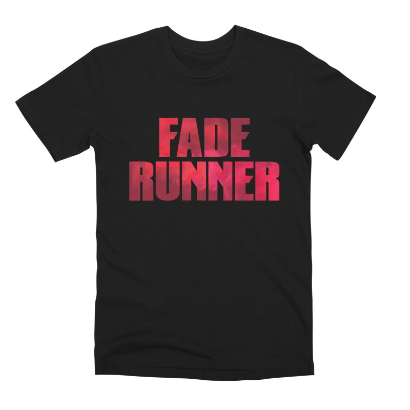 Fade Runner in Men's Premium T-Shirt Black by FWMJ's Shop