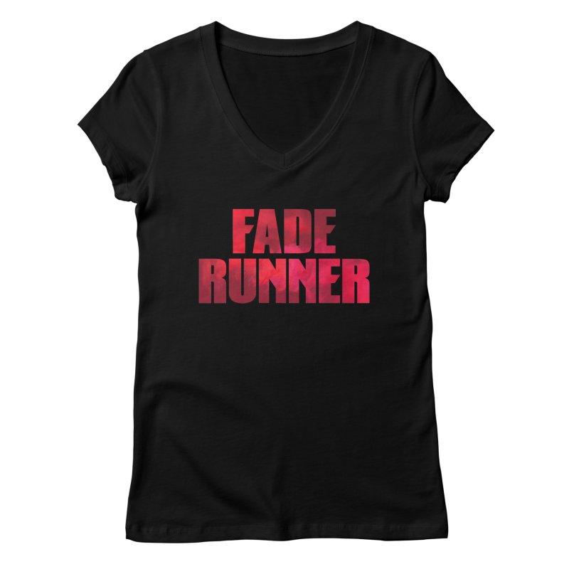 Fade Runner Women's V-Neck by FWMJ's Shop