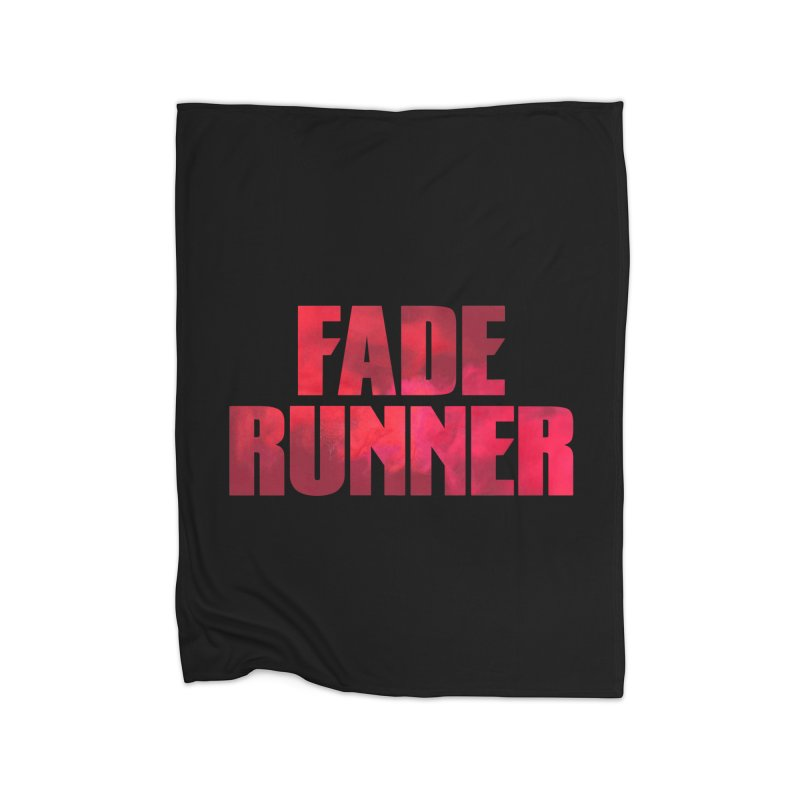 Fade Runner Home Fleece Blanket Blanket by FWMJ's Shop