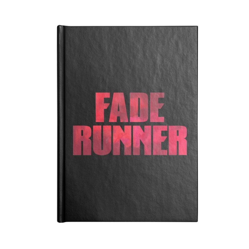 Fade Runner Accessories Notebook by FWMJ's Shop